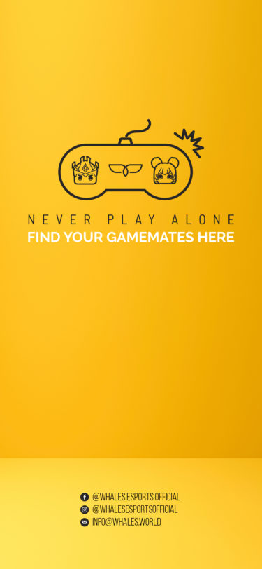NEVER PLAY ALONE